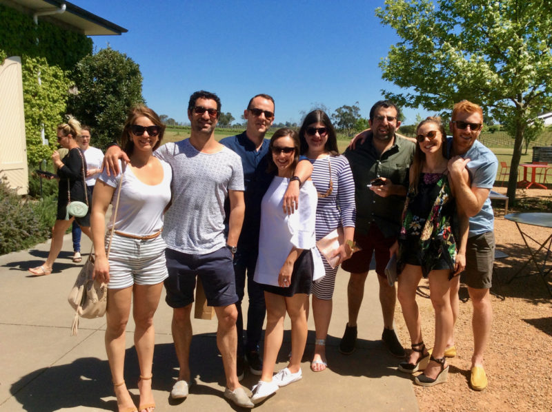 private day tour yarra valley with friends